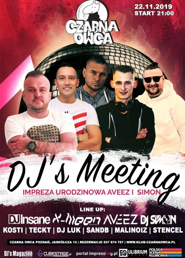 Czarna Owca Poznań – DJ's Meeting 4 B-Days Insane X-Meen