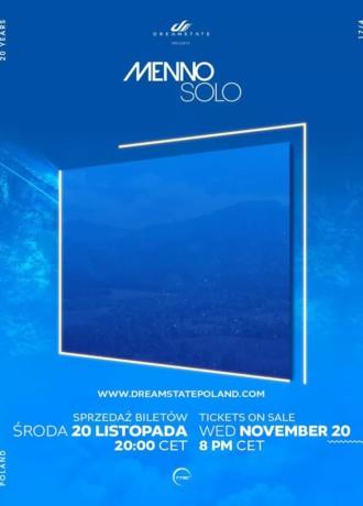 """Dreamstate pres. Menno Solo """"20 Year Anniversary"""""""