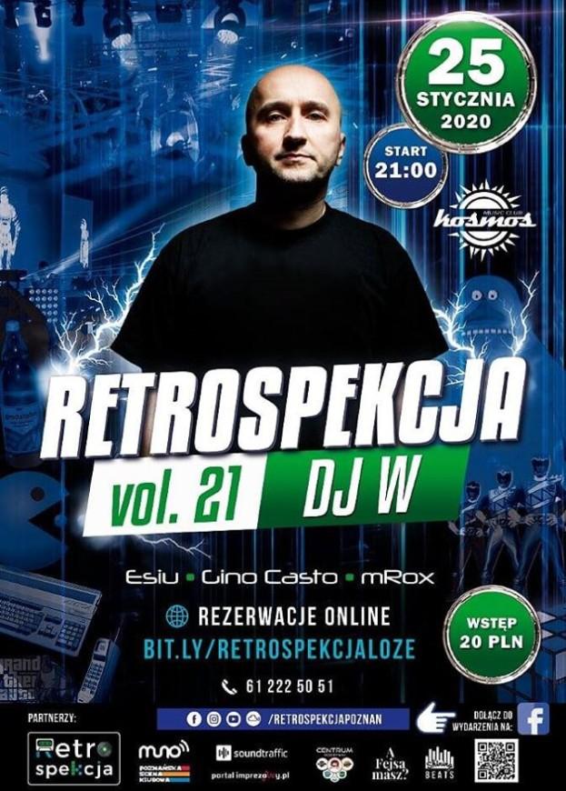 Klub Kosmos Poznań – Restrospekcja 21 DJ W