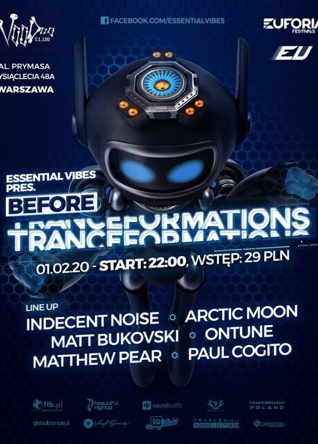 VooDoo Club– Essential Vibes pres. Before Tranceformations 2020