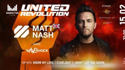 Manhattan CLUB Czekanów – United Revolution – Matt Nash