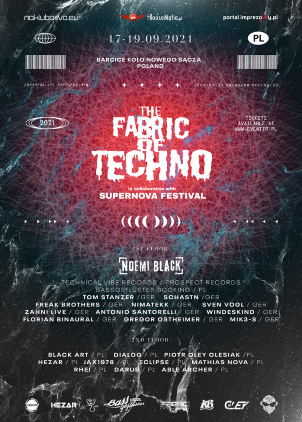 The Fabric Of Techno in Collaboration with SUPERNOVA FESTIVAL