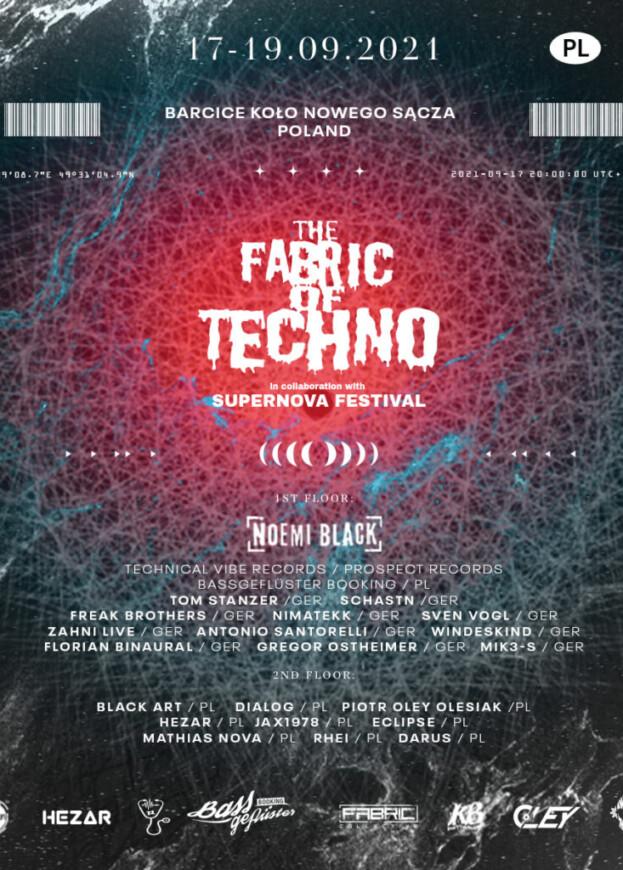 Wygraj bilet na The Fabric Of Techno