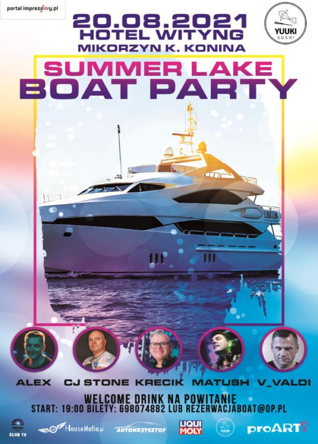 Summer Lake Boat Party